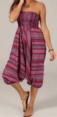 Sarouel d'été pour Femme Ethnique et Coloré Ivan Rose 276795