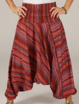 Sarouel d'été pour Femme Ethnique et Coloré Ivan Rouge 276790