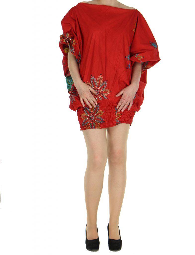 Sarouel été coloré 3en1 rouge Fabiano 268521