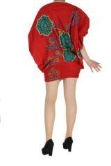 Sarouel été coloré 3en1 rouge Fabiano 268524