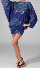 Sarouel ethnique de couleur bleu Lilly 269472