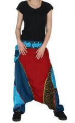 Sarouel ethnique inde julio bleu 261555