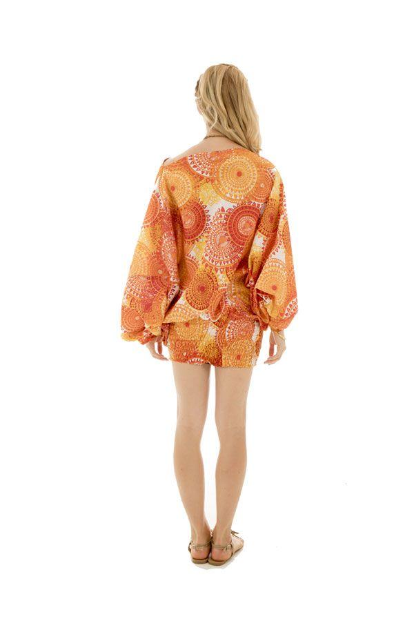 Sarouel femme coloré en coton pour l'été Roxana 288777