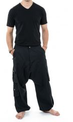 Sarouel homme avec des poches refermables idéal en féstival Skina 305572