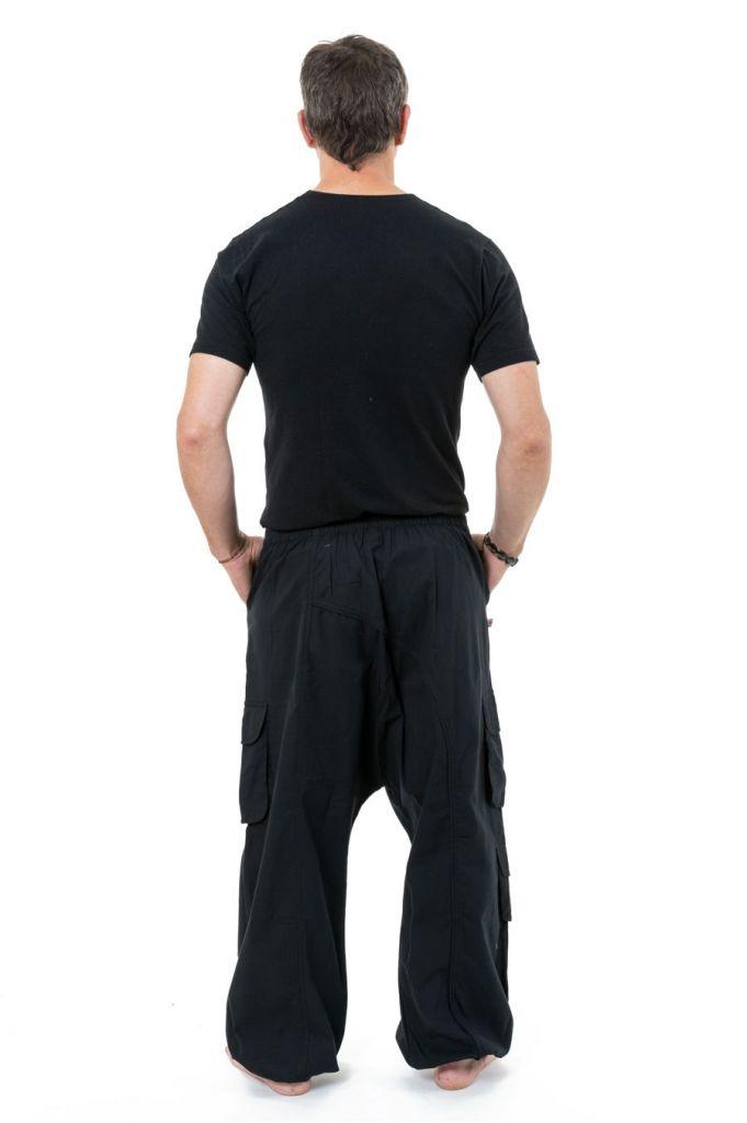 Sarouel homme avec des poches refermables idéal en féstival Skina