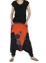 Sarouel mixte baba cool lucus orange 261203