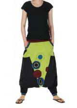 Sarouel mixte baba cool lucus vert 261201