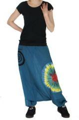 Sarouel mixte chakib bleu 261609