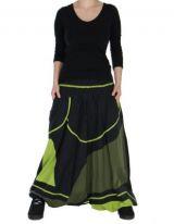 Sarouel Mixte Pour Homme Et Femme Noir Et Vert Teevy 265928