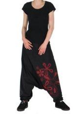 Sarouel n�palais flower noir 261729