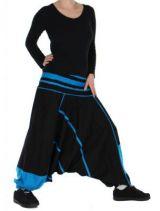 Sarouel Original Noir Et Bleu Michigan 265997