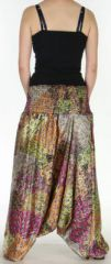 Sarouel pour Femme Chic et Ethnique aspect soie Joanis Orange 275421