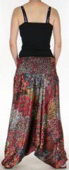 Sarouel pour Femme Chic et Ethnique aspect soie Joanis Rouge 275415