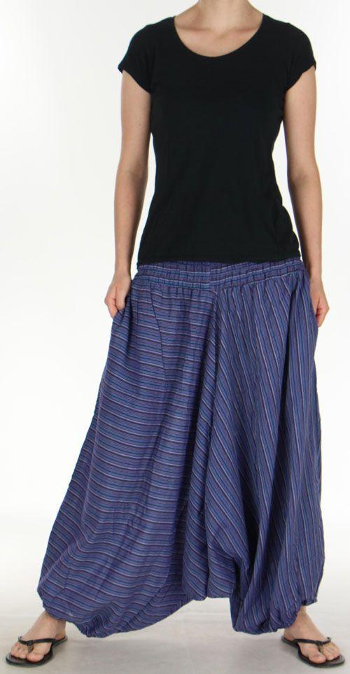 Sarouel pour Femme du Népal Ethnique Keyton Rose 276126
