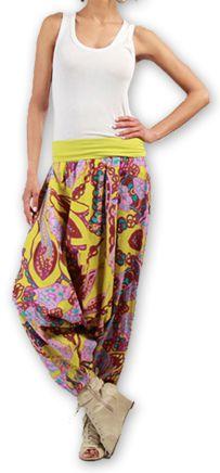 Sarouel pour Femme Ethnique et Coloré Thaly Rose 277164