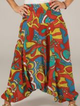 Sarouel pour Femme Ethnique et Original Tristan Multicolore 276784