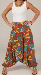 Sarouel pour Femme Ethnique et Original Tristan Multicolore 276785