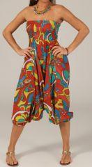 Sarouel pour Femme Ethnique et Original Tristan Multicolore 276786