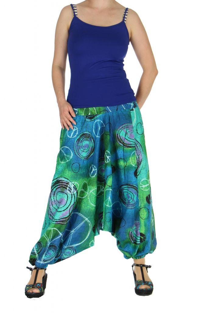 Sarouel transformable en robe ou combi mario 263581
