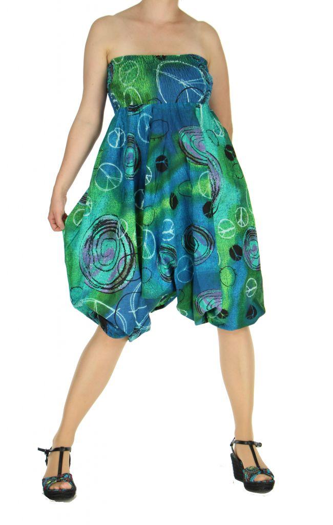 Sarouel transformable en robe ou combi mario 263582