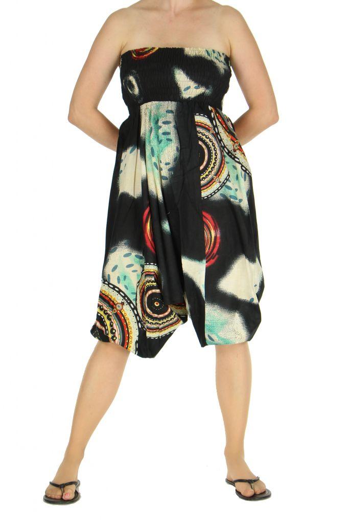 Sarouel transformable en robe ou combi nataelle 263588