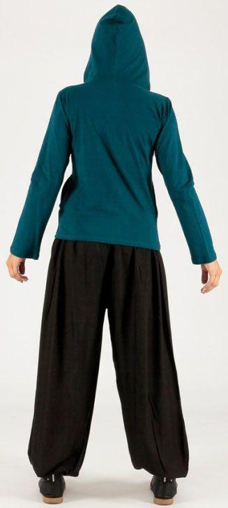 Sweat femme à capuche ethnique et pas chèr Malik 274371