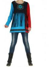 T-shirt femme original bleu cheyenne 266331