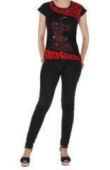 Tee-shirt femme original rouge destiny  261457