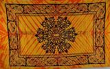 Tenture Arrow Celtic jaune et orange 237957