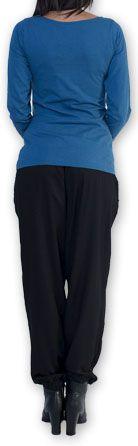 Top à manches longues Imprimé et Coloré Lottus Bleu 274457