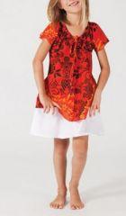 Top ethnique coloré pour fille N10 268186