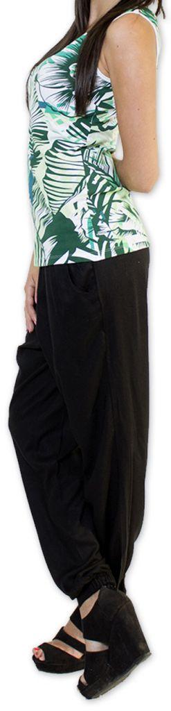 Top femme sans manches Coloré et Original Vert Lina 273573