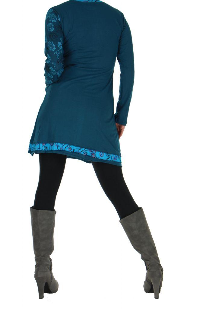 Tunique bleue originale Marion 266587