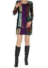 Tunique color�e Val�ria noire 267153