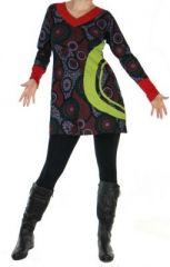 Tunique ethnique � manches longues enoa 265083