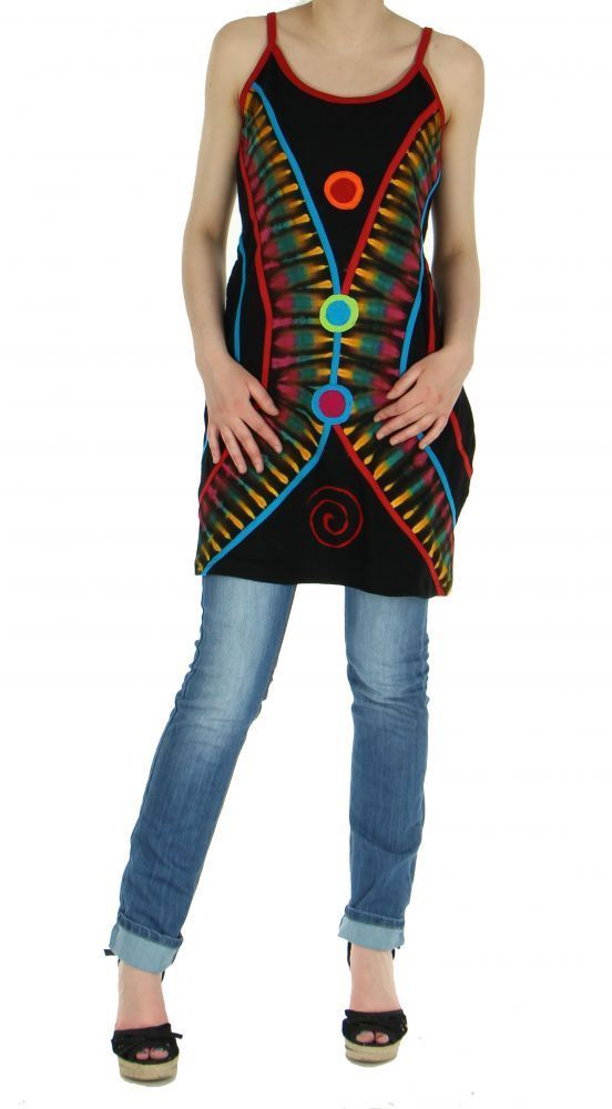 Tunique femme originale grande taille janeiro noire 245431