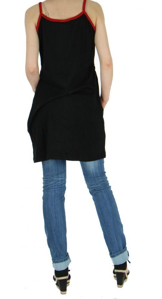 Tunique femme originale grande taille janeiro noire 255428