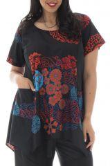 Tunique grande taille colorée et tendance avec imprimés Lorna 295751
