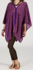Tunique large et �vas�e originale et pas ch�re Violette Palmira 272259