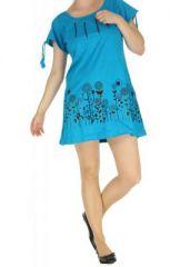 Tunique originale du N�pal douglas bleue 263798