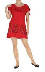 Tunique originale du N�pal douglas rouge 263802