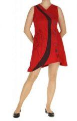 Tunique originale du N�pal olmy rouge 263792
