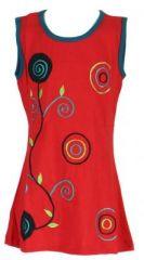 Tunique originale enfant rouge Noline 270880