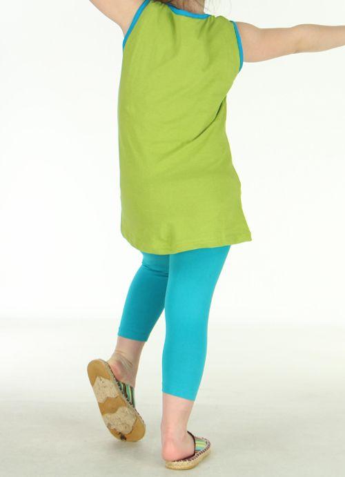 Tunique originale enfant verte Noline 270828