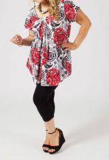 Tunique originale femme ronde Audrey 268711
