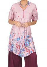 Tunique ou robe de plage à fleurs ethnique Sandriny 316818