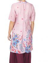 Tunique ou robe de plage à fleurs ethnique Sandriny 316819