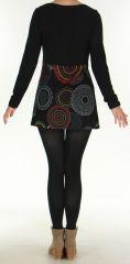 Tunique pour Femme Ethnique et Originale Odeline Noire 275965
