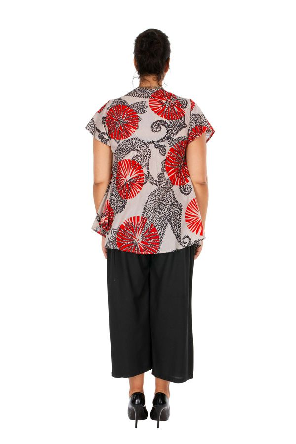Tunique pour femme grande taille originale et colorée Glan 309835