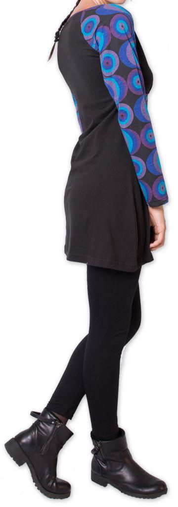 Tunique pour Femme Originale et Colorée Godavary Noir 275794